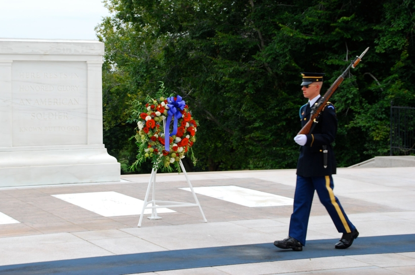 Tomb of Unknowns Changing of Guard