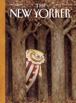 trmp clown on New Yorker