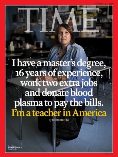 Time Cover Teacher in America